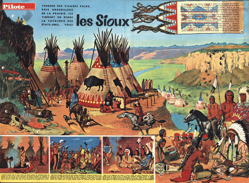 12 nº 13 MURTIN Los sioux